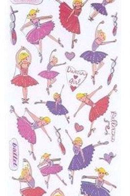 Craft Planet Fun Stickers - Ballerinas