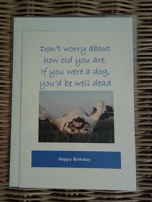 Humorous Birthday Card #2