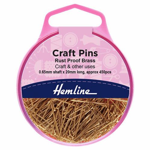 Hemline Craft Pins