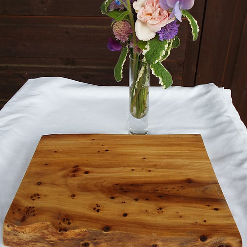 Burred Elm Chopping Board #7