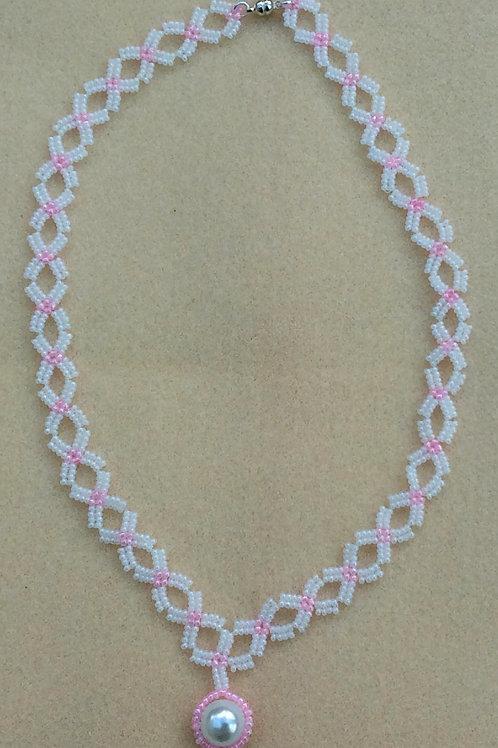 Perles de Rocaille Pendant Necklace