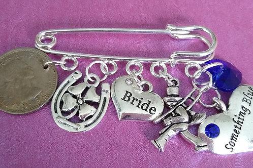 Bride's Garter Pin