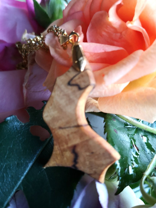 Spalted Beech Pendant #16