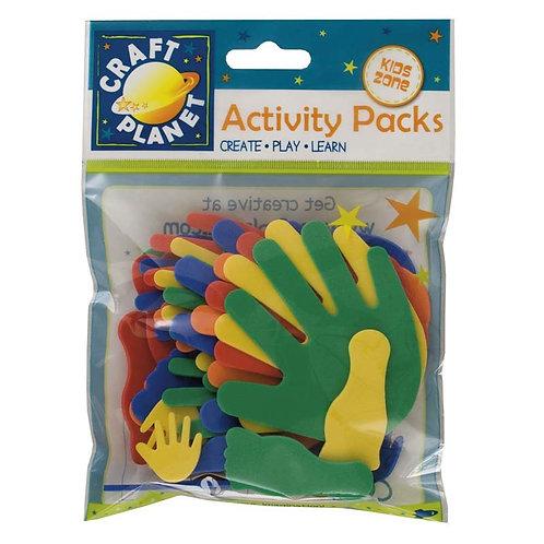 Craft Planet Activity Packs - Hands & Feet