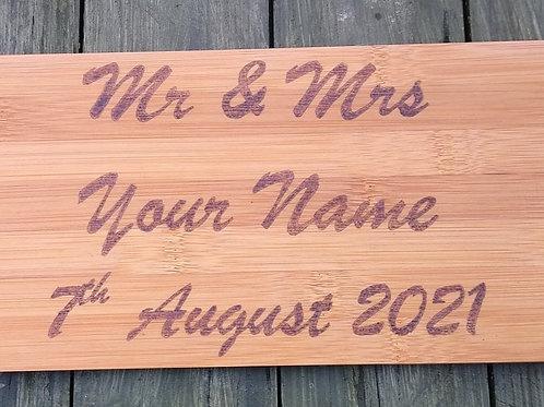 Personalised Wedding/Anniversary Gift