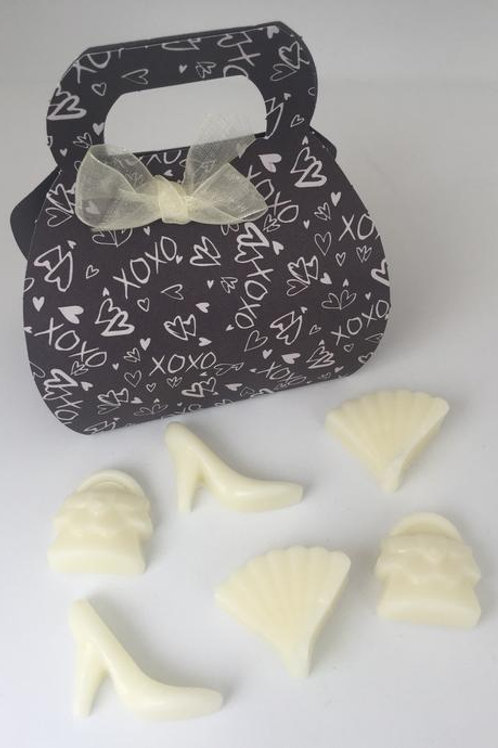 Mini Handbag Gift Box with 6 Wax Melts