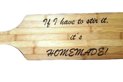 Bamboo Cutting Board (Homemade)