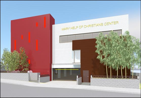 MHCC Parking Garage Entrance