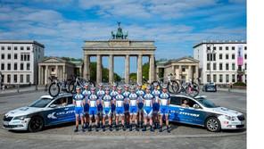 "Berliner*innen bei der ""Müller – Die lila Logistik Rad-Bundesliga"" 2021"