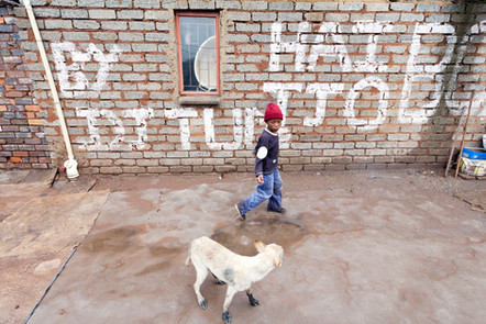 SAVE THE CHILDREN - RADEBE FAMILY - PHOTOGRAPHY