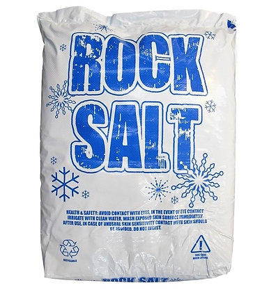 2 x 25kg  Rock Salt