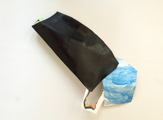 See It Through, L Shapiro,acrylic on pap