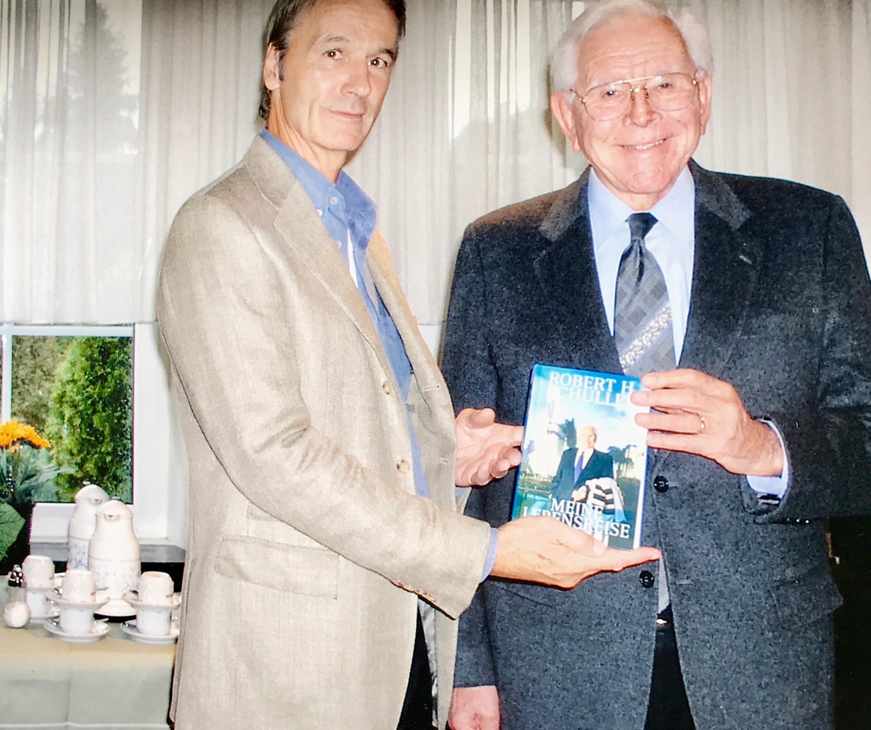 Mit Dr. Robert Schuller