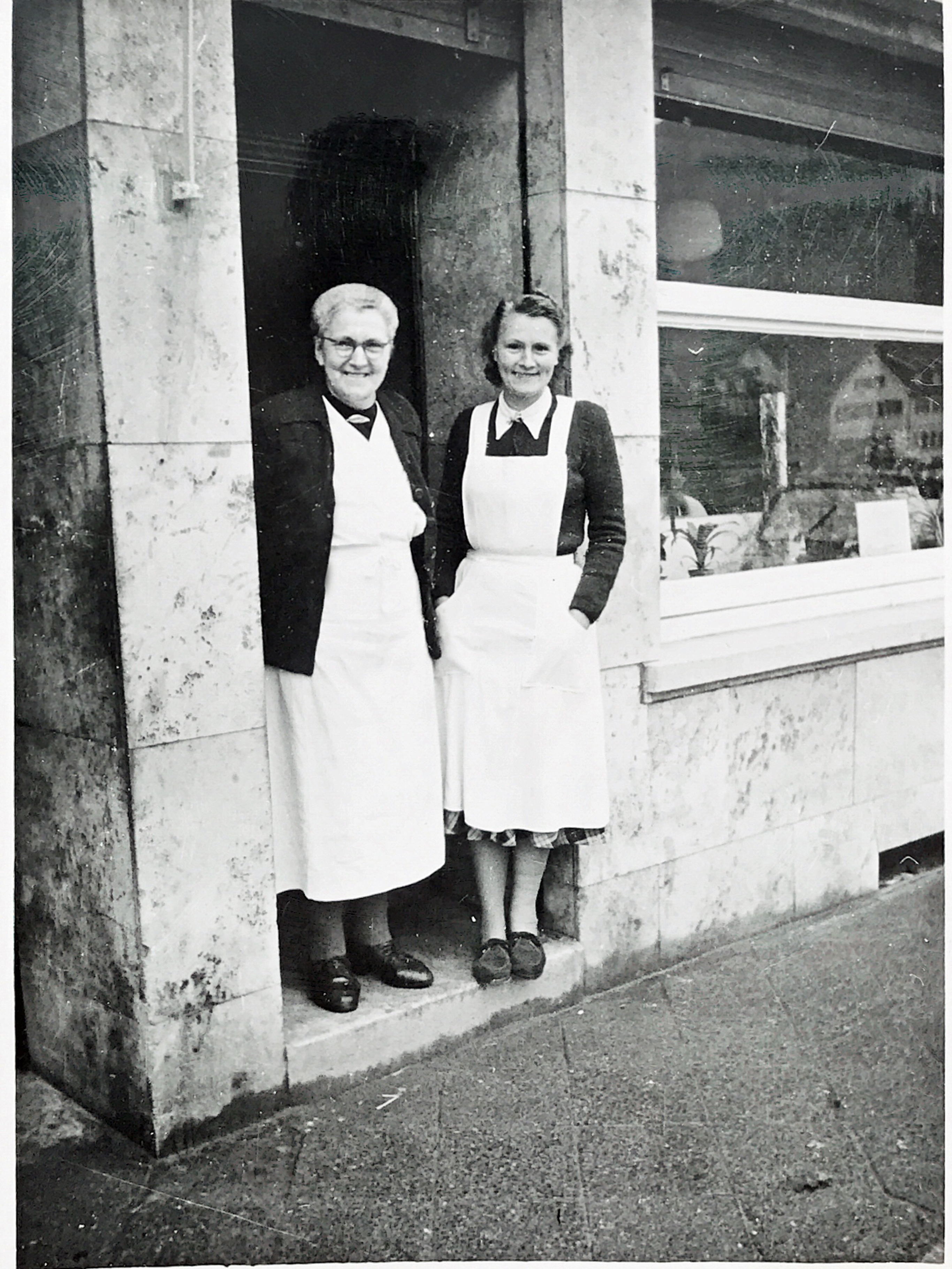 Oma Anna und Mutter Meta