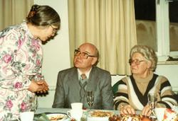 Margret Birkenfeld und Ehepaar Schulte