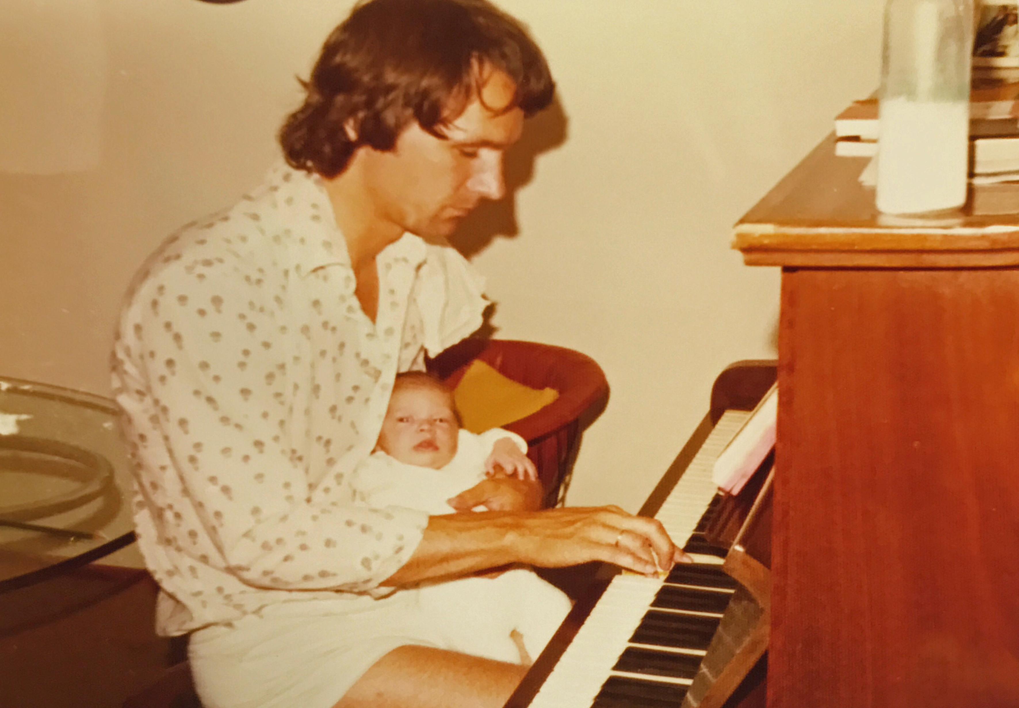 Papa mit Sarah