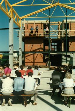 Richtfest Sommer 1988
