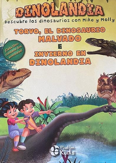 Dinolandia - El dinosaurio malvado y el invierno