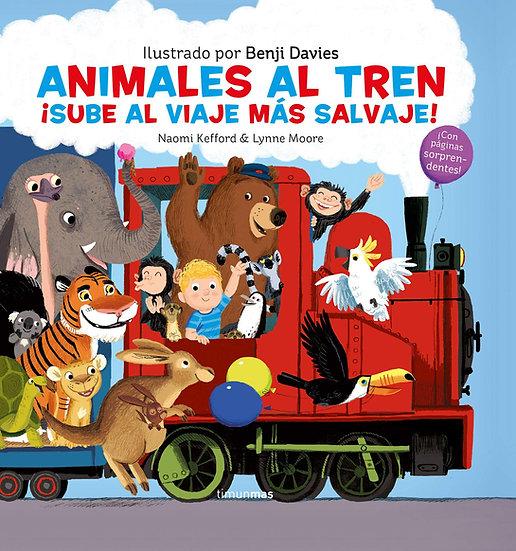 Animales al Tren - Benji Davies