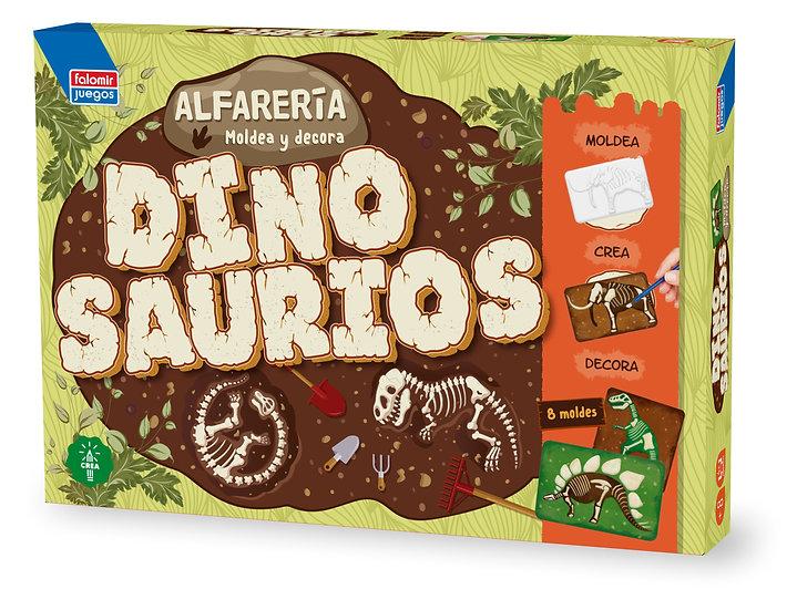 Alfarería dinosaurios - juego