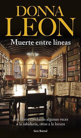 Muerte entre lineas - Donna Leon