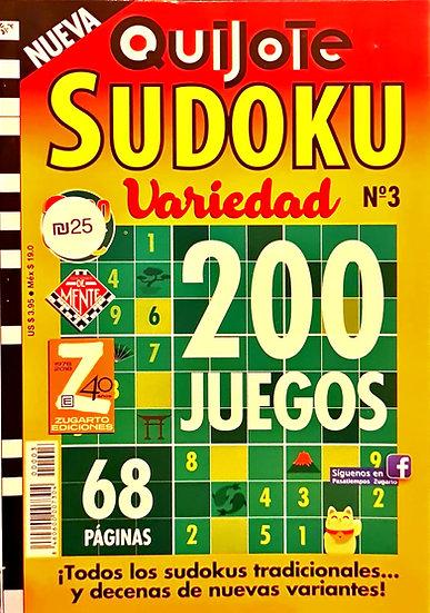Sudoku variedad - Pasatiempos