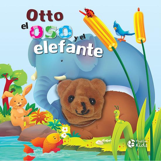 Otto el oso y el elefante - títeres