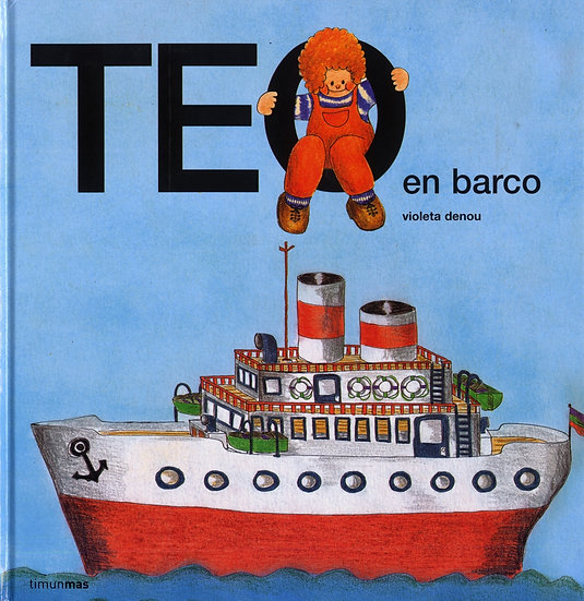 Teo en barco - Teo