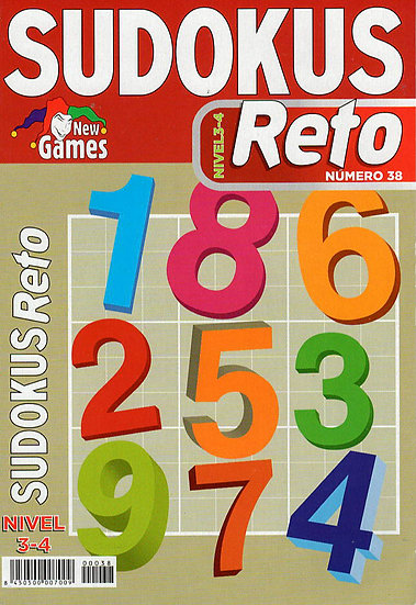 Sudoku reto - Pasatiempos