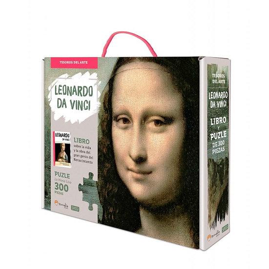 Leonardo da Vinci - Libro + puzzle