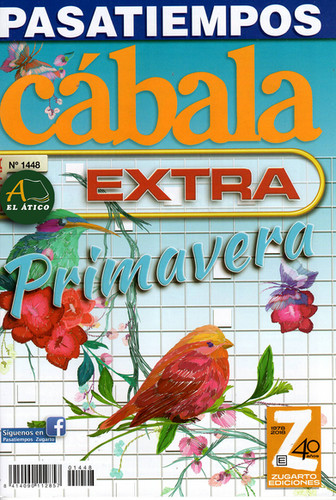Pasatiempos Cabala Extra 1448.jpeg