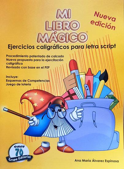 Ejercicios caligráficos Script - Mi libro mágico