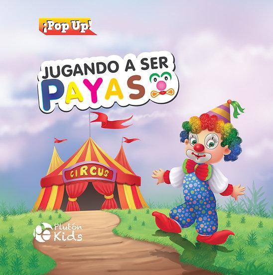 Jugando a ser payaso - pop up