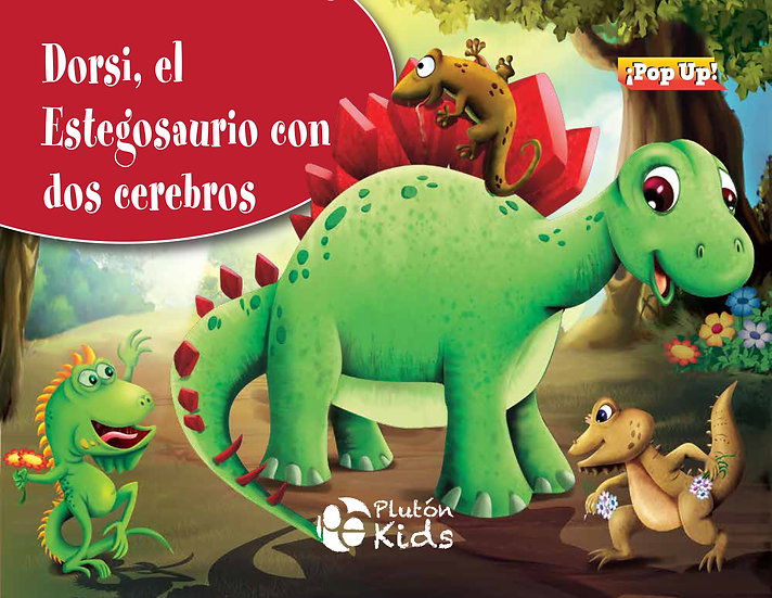 Dorsi el estegosaurio - pop up