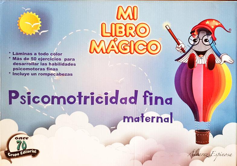 Psicomotricidad fina maternal - Mi libro mágico