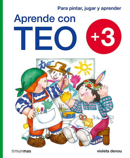 Aprende con Teo  +3 - Teo