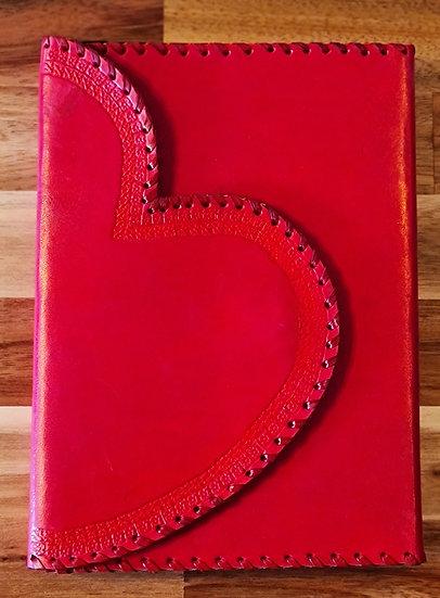 Libro cuero: Corazón