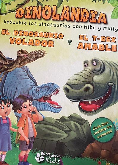 Dinolandia - El dinosaurio volador y el T-Rex