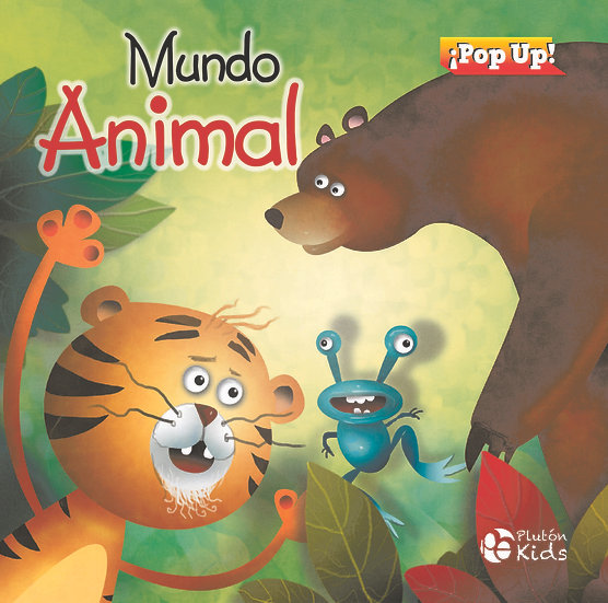 Mundo animal - pop up