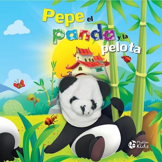 Pepe el panda y la pelota - títeres