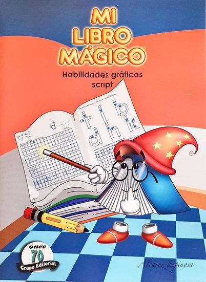 Habilidades gráficas Script - Mi libro mágico