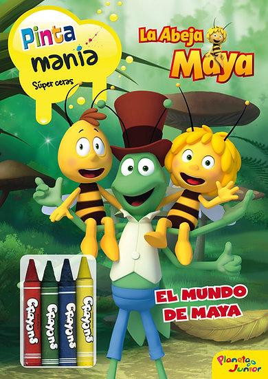 La abeja Maya - colorear