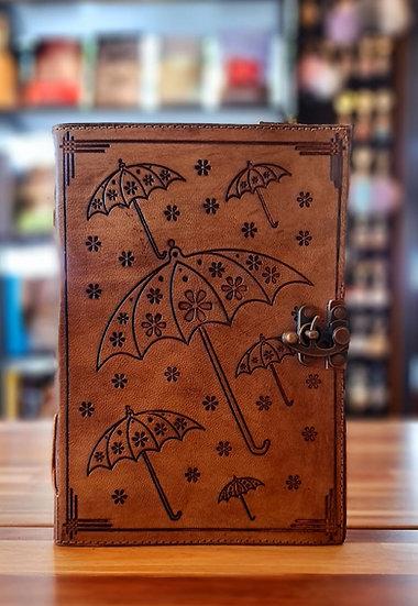 Libro cuero: Paraguas