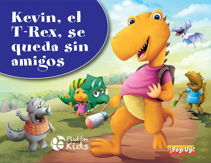 Kevin el T-Rex - pop up
