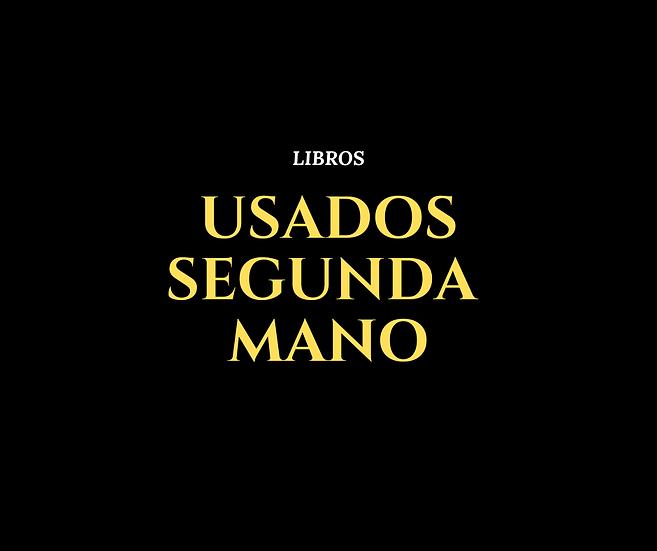 LIBROS DE SEGUNDA MANO - USADOS