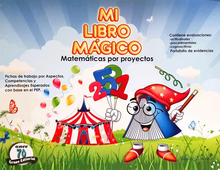 Matemática proyecto 3 - Mi libro mágico
