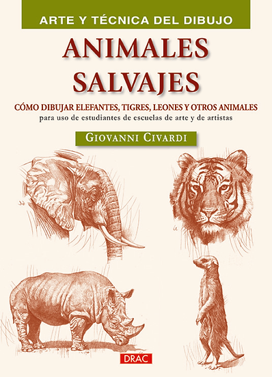 Cómo dibujar animales salvajes - Dibujo