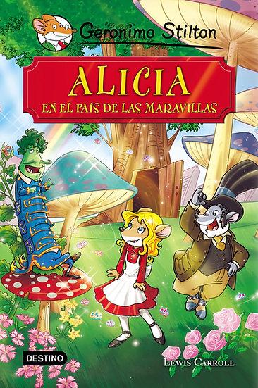 Alicia en el país de las maravillas - Gerónimo Stilton