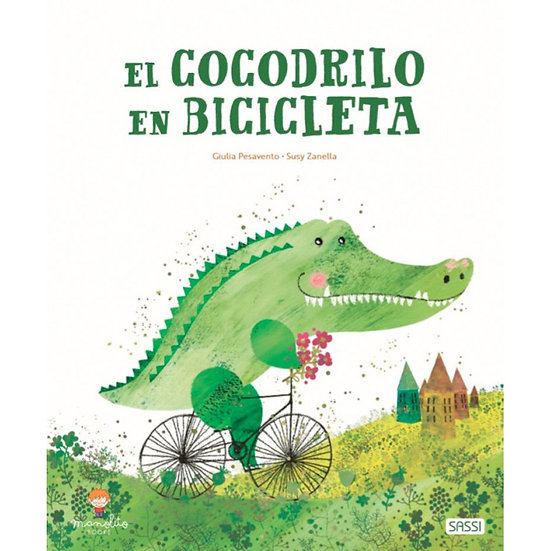 Cocodrilo en bicicleta -  Giulia Pesavento
