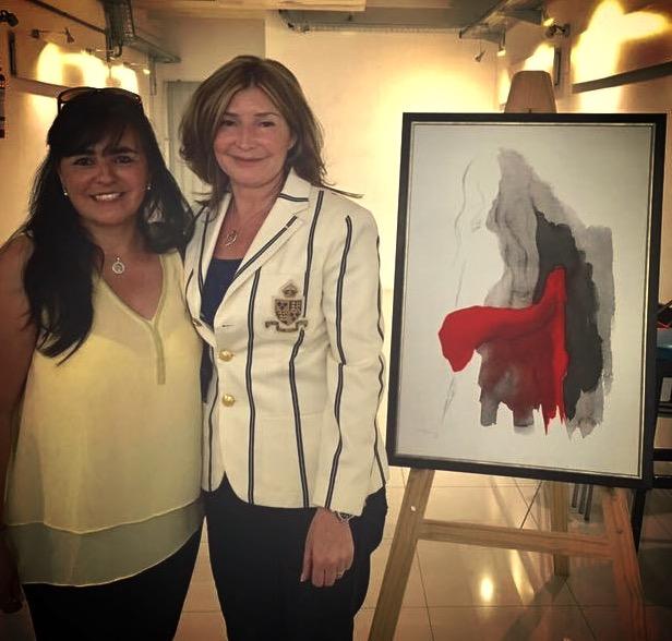 Elizeth y Susana Larrosa